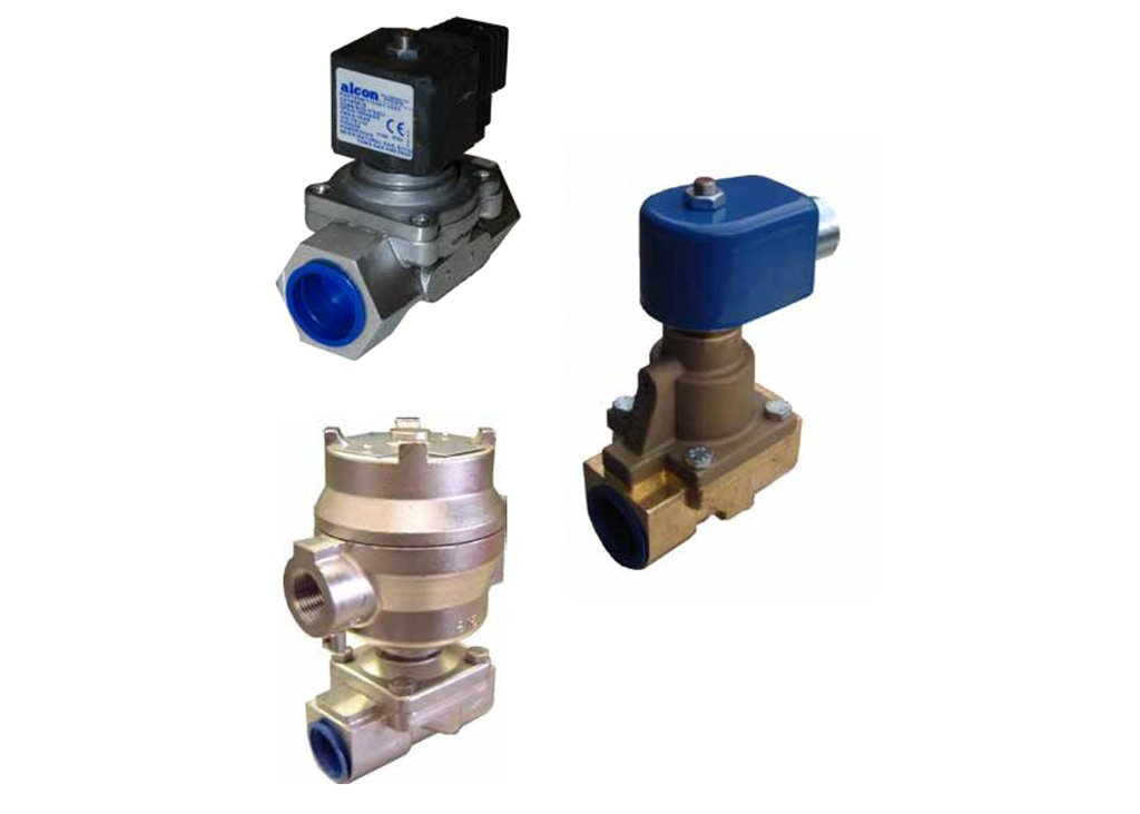 Alcon Air Valves Solenoid Operated