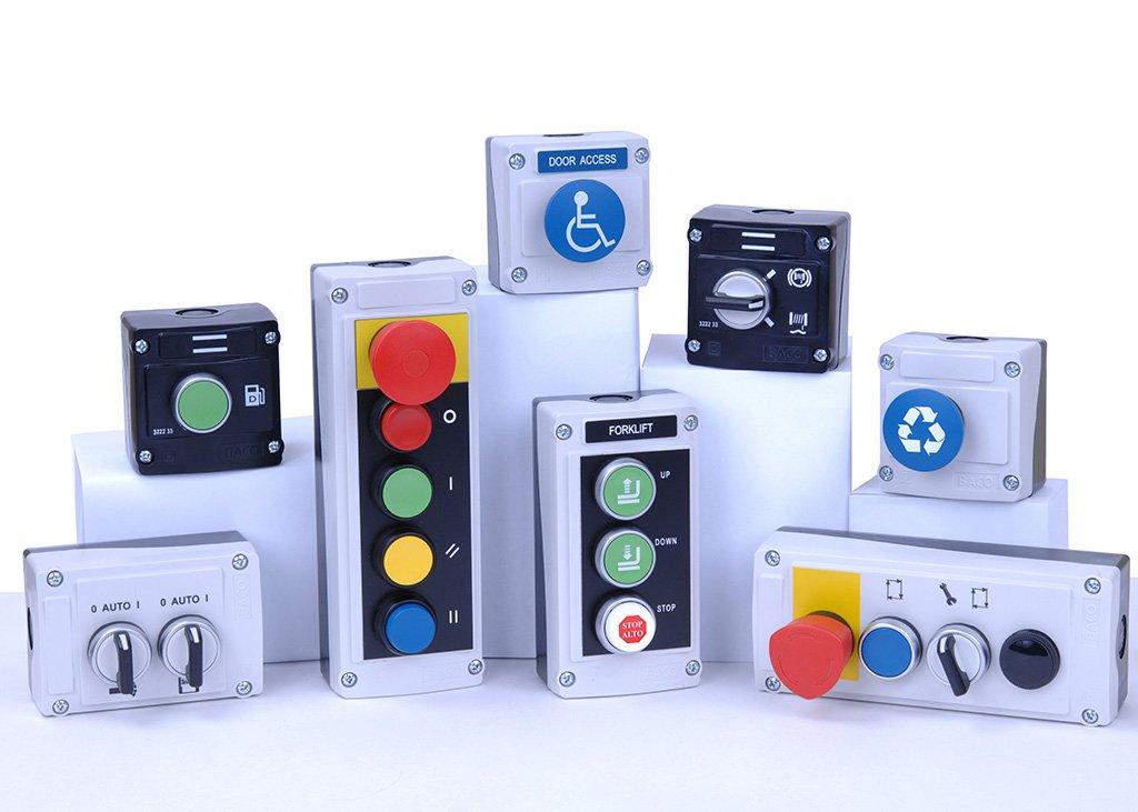 Baco Controls Custom Enclosure Group Shot